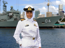 Breaking Stereotypes: Mona Shindy Is Australia's First Muslim Navy Captain & Engineer