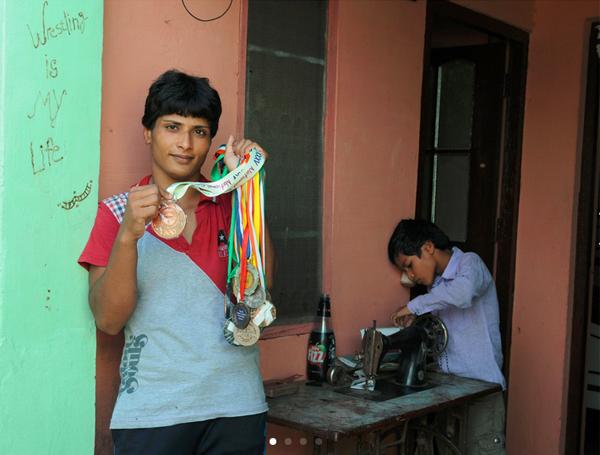 neetu-sarkar-indian-wrestling-champion