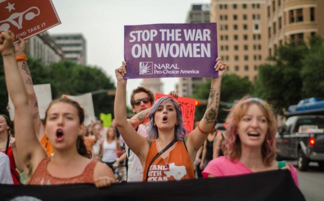 war-on-women-rally