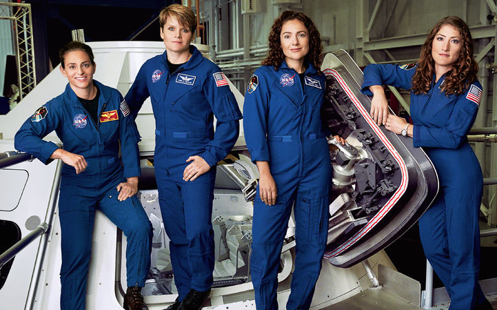 For The First Time In History NASA's Astronaut Class Is 50% Female & They're Training To Go To Mars