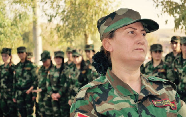 Escaping ISIS, These Former Sex Slaves Created A Battalion & Are Now Fighting Their Captors