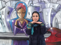 Afghanistan's 1st Female Street Artist Painting Messages About Hope, Hijabs & Feminism