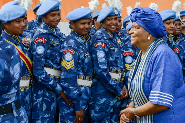 United Nations' First All-Female Peace Keeping Unit Hailed As Heroes By World Leader