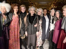This London Fashion Week Show Finally Gave Visibility To Older Models In A Stylish Way