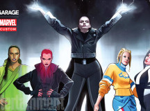 Garage Magazine Teams Up With Marvel To Re-Imagine Supermodels As Superheroes