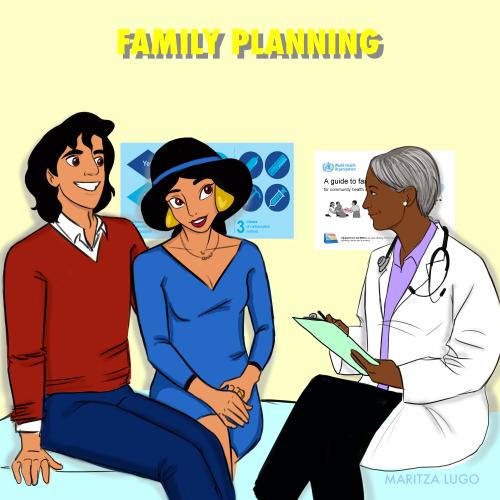danielle-speulveres-cervical-health-awareness-disney-princess-series