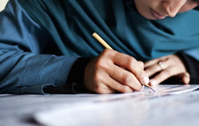 afghan-woman-writing