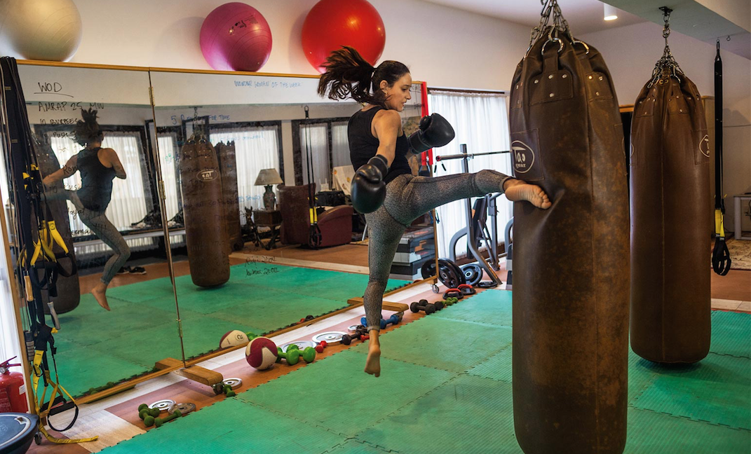 Saudi arabia s st female boxing trainer defying the