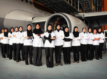 Royal Brunei Airlines Takes Empowerment Sky High With It's First All-Female Flight Crew