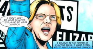 No Cape Needed: Senator Elizabeth Warren Becomes Immortalized As A Comic Book Superhero