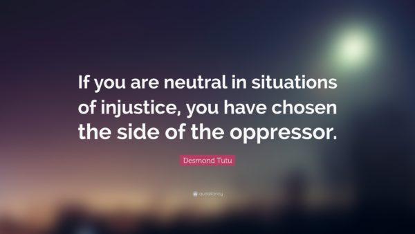 essay injustice breeds evil