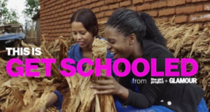 "Glamour Magazine's ""Get Schooled"" Video Series Highlights The Power Of Educating Girls"