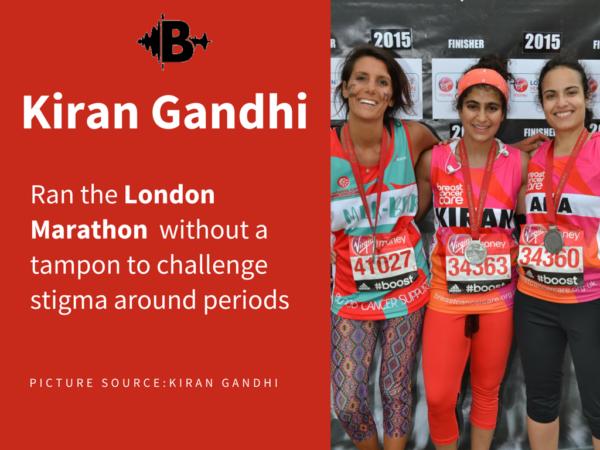Kiran-Gandhi-london-marathon