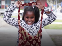 Love In Action: 9 Y/O Girl Makes Toiletry Kits For Homeless Women In Los Angeles