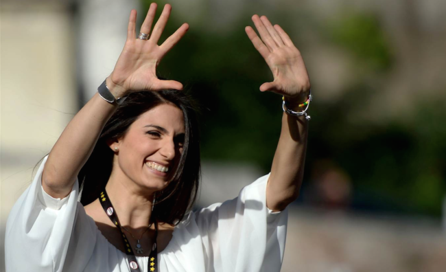 virginia-raggi-rome-mayor