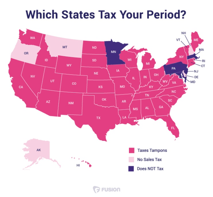 tampon-tax-map-USA
