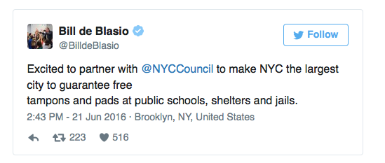 bill-de-blasio-tweet