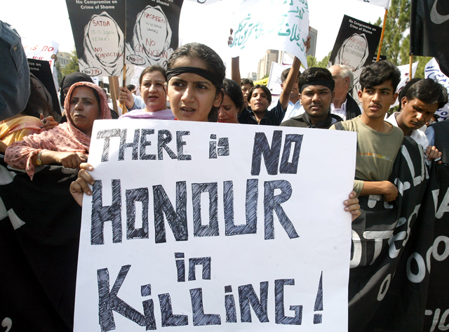 honor-killing-protest-pakistan