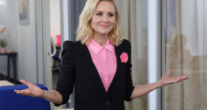 "FEMINIST FRIDAY: NJ Teacher Schools Kids On Gender Inequality In Gov't, Kristen Bell Introduces ""Pinksourcing"""
