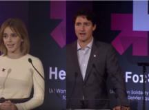 "FEMINIST FRIDAY: Emma Watson & Justin Trudeau Give Speeches For The ""He For She"" Anniversary"