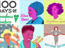 Artist Creates An Awesome Illustration Series Celebrating #100DaysOfBadassBabes From Around The World
