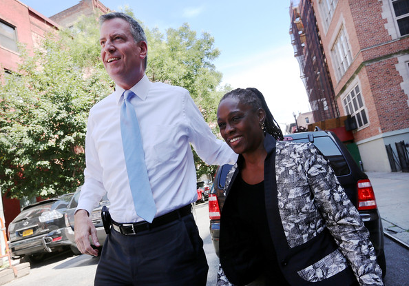 NYC-mayor-bill-de-blasio-chirlane-mccray