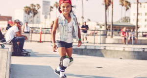 8 Year Old Sky Brown Is The Youngest Girl To Skate At The Vans US Open Pro Series