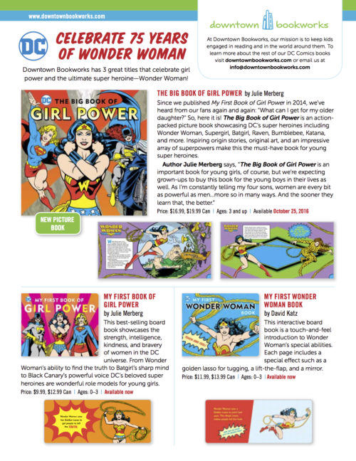 downtown-bookworks-wonder-woman-books