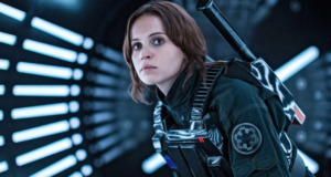 """""""Rogue One"""" Star Felicity Jones On Playing A Non-Sexualized Female Lead Without A Male Love Interest"""