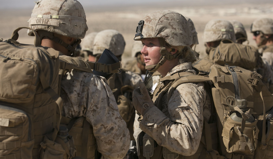 History Made: Military Welcomes First Female Infantry Marines, Furthering Gender Integration