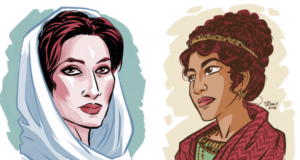 "Badass Historical Female Trailblazers Brought To Life In ""100 Days, 100 Women"" Art Series"