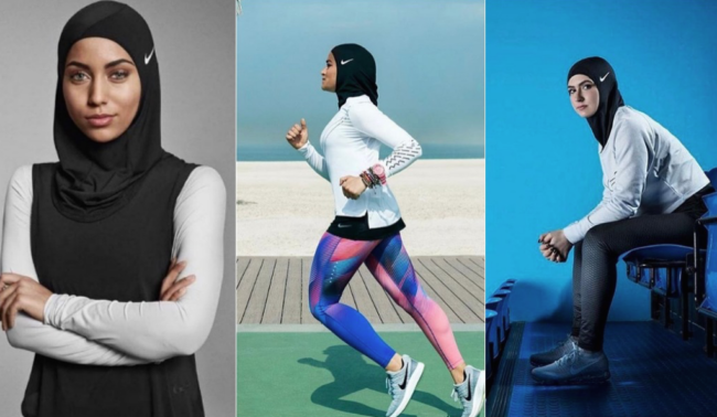 The Launch Of Nikes Pro Hijab Was Designed To Encourage More - Nike is going to launch a hijab collection developed together with muslim athletes