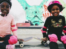 Skateboarding Org. Supporting Girls To Be Active Leaders Of Positive Change In Their Community