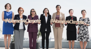Political Leaders Hold Summit To Discuss Women's Pivotal Role In Climate Change Policy