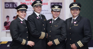 Air India Makes History With Its Round-The-World All-Female Flight Crew, From Delhi To San Francisco