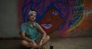 Brazilian Artists Using Graffiti To Raise Awareness About Gender Violence & Women's Rights