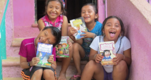 Children's Book Series Created To Feature Real Stories Of People In The Mayan Community In Mexico