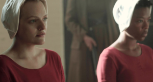 "Elisabeth Moss On Why 'The Handmaid's Tale' Is Indeed A Feminist Story, & A Warning To ""Stay Woke"""