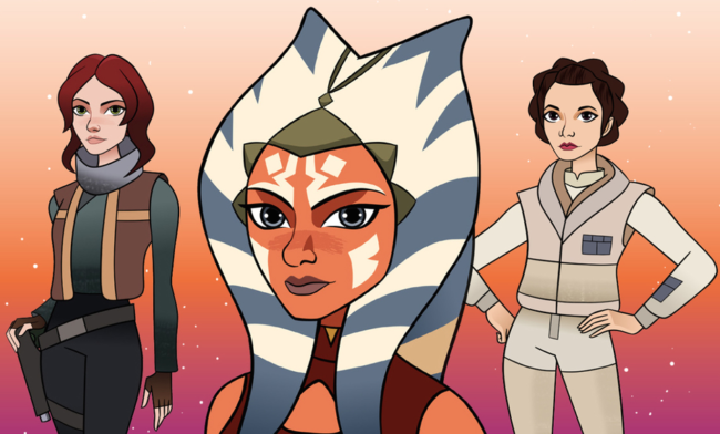 new star wars forces of destiny animated series features female