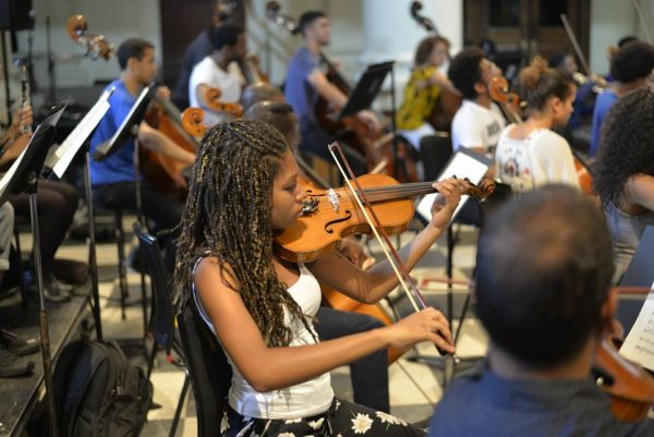 Europe's First Black & Minority Ethnic Orchestra Disrupting