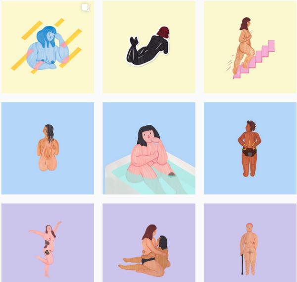 Girltalkhq Artist Creates Illustration Series Celebrating The