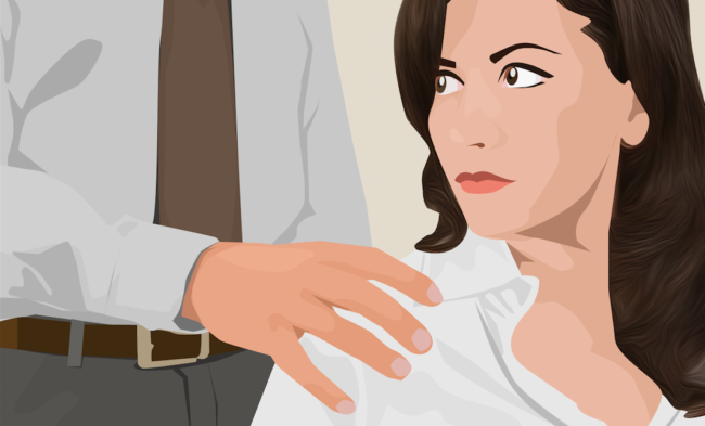 """the challenges of dealing with sexual harassment in the workplace A significant challenge in preventing workplace harassment is the  """"for  mentoring, for networking, [and] for assignment to the best deals."""