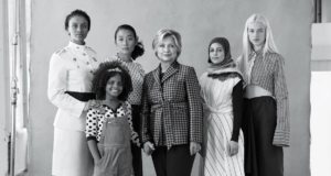 "Teen Vogue's ""21 Under 21"" Nominees Discuss Equality & Feminism With Hillary Clinton"