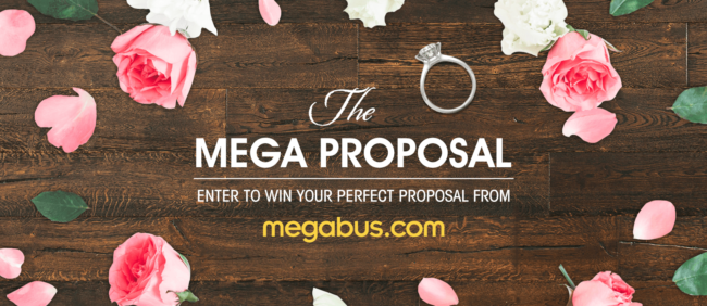 Make This Valentines Day One To Remember With Megabus Mega Proposal