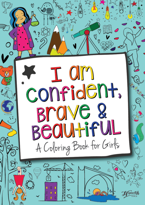 New Coloring Book For Girls Created To Build Up Their Confidence ...