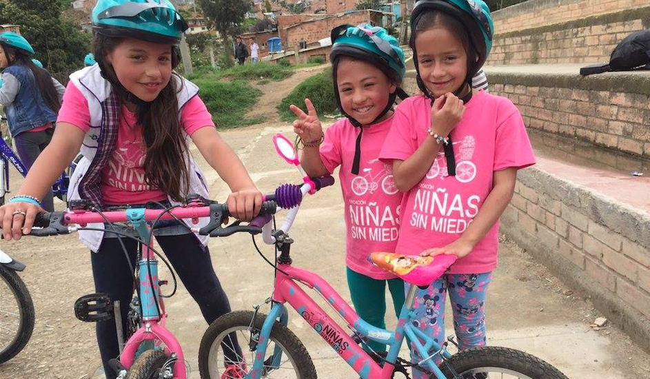 Colombian Org. Creates Bike-Riding Groups To Help Girls Escape Gender & Sexual Violence