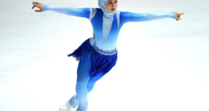 UAE Figure Skating Champ Embracing Role Model Status & Encouraging Arab Girls In Sports