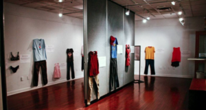 "Art Exhibit Displays Rape Survivors' Clothing To Challenge The ""What Were You Wearing?"" Narrative"