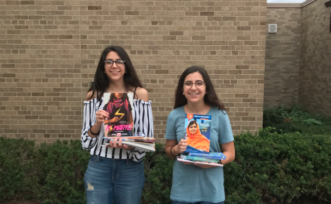 Sisters Launch Library Collection To Empower Muslim Girls Through Books