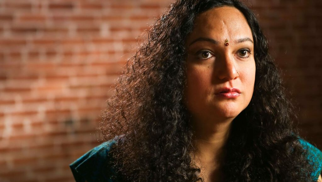 A still image from Maya's interview in NQAPIA's 'Uncovering Our Stories' series.